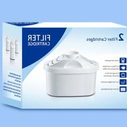 2pcs Water Filter Cartridge Purify Kettle Clean Kit Replacem