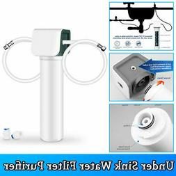 3 Stage Under Sink Counter Water Filter Purifier Direct Conn