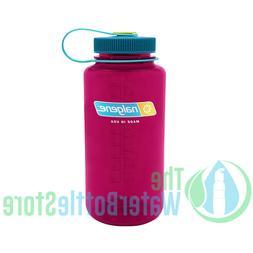 Nalgene 32oz Wide Mouth BpA Free Plastic Tritan Water Bottle