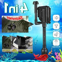 4-IN-1 Aquarium Wave Maker Internal Purifier Filter Oxygen W