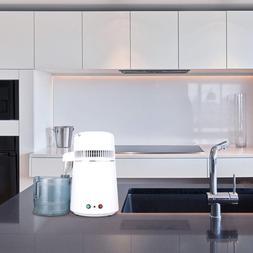 4L Home Countertop Stainless Steel Interior Water Distiller