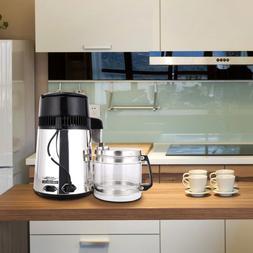 1 Gallon/4L Home Stainless Steel Countertop Water Distiller