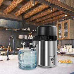 4L Water Pure Distiller 750W Home Dental/Medical Purifier Fi