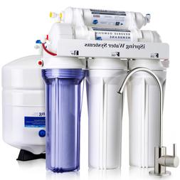 5 Stage Under Sink Reverse Osmosis Drinking Water Purifier H