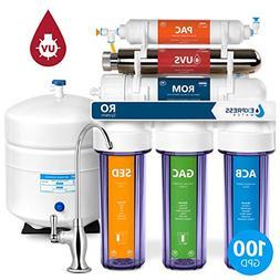 6 Stage UV Ultra-Violet Sterilizer Reverse Osmosis Home Drin