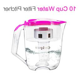 6 Stage 10 Cup Water Filter Pitcher Purifier Reduce 99% Part