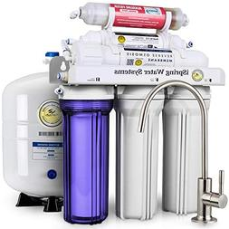 iSpring 6-Stage Water Filter System with Alkaline Reminerali