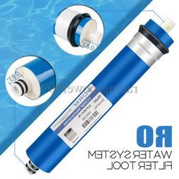75 GPD Reverse Osmosis System RO Membrane Water Purifier Fil