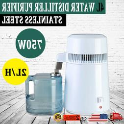 750W 4L Water Distiller Pure Purifier Filter Medical Counter