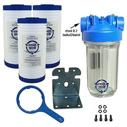 KleenWater Whole House Water Filter, Complete Filtration Sys