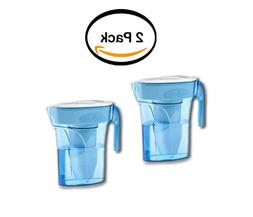 PACK OF 2 - ZeroWater 6-Cup Pitcher with Free TDS Light-Up I