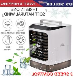 Air Conditioner Cooler Humidifier Purifier Fan Portable Cool