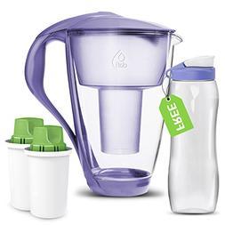 Dafi Alkaline UP Crystal Pitcher 8 cups - Highest Quality Wa