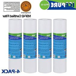 """Big Blue Sediment Replacement Water Filters 5 Micron 10"""" x"""