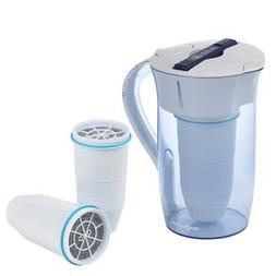 BUNDLE!! ZERO WATER 2.5 QT WATER PURIFIER PITCHER ~ COMES WI