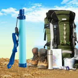 Camping Hiking Emergency Life Survival Portable Purifier Wat