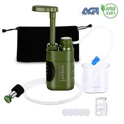 Joypur Camping Portable Pump Water Filter - 0.01 Micron Emer