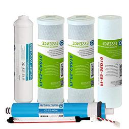 APEC 75 GPD Complete Replacement Water Filters For UV RO Sys