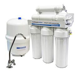 50 Gallon Per Day 5-Stage Reverse Osmosis RO Under the Count