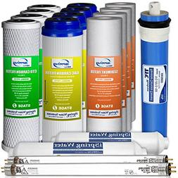 iSpring F17U100 2-Year Replacement Filter Set for 100GPD 6-S