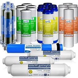 iSpring F28D75 3-Year Replacement Filter Set for 6-Stage 75G