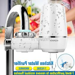 Faucet Water Filter For Kitchen Sink Bathroom Mount Filtrati