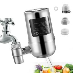Tap Faucet Water Filter 8-Layer System Kitchen Home Mount Fi