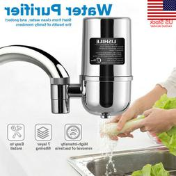 Faucet Water Filter For Kitchen Sink Or Bathroom Mount Filtr