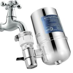 Faucet Water Filter Kitchen Sink Bathroom Mount Filtration T