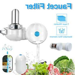 faucet water filter system kitchen sink mount