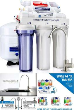High Capacity Under Sink Reverse Osmosis Drinking Water Filt