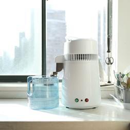 Home Water Distiller Purifier Machine 750W 4L Stainless Stee