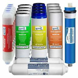 iSpring F19K75 2-Year Filter Replacement Supply Set For 6-St
