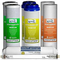 iSpring F8U 1-Year Replacement Filter Set for 6-Stage Revers