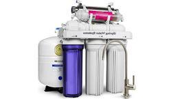 iSpring RCC7AK-UV Deluxe Under Sink 7-Stage Reverse Osmosis