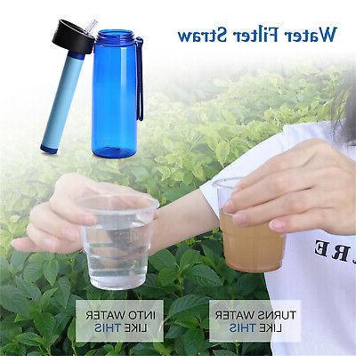 Purifier Filtration Bottle Emergency US