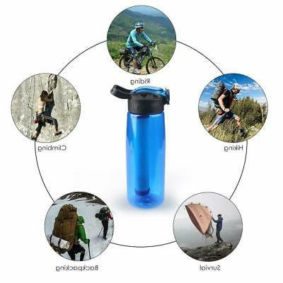 Straw Purifier Hiking Survival Tool