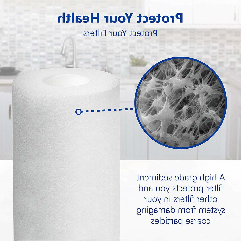 5 Home Water Filter Purifier Fiber Ultra-filtration
