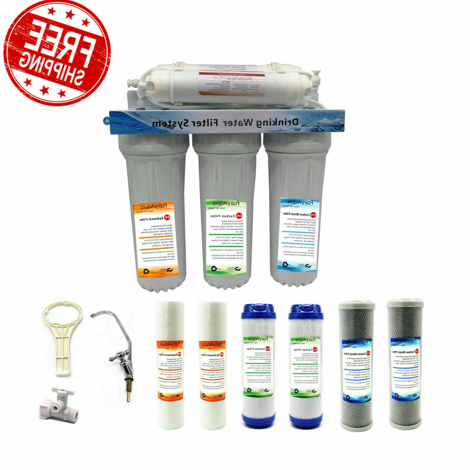 5 stage home drinking water filter purifier