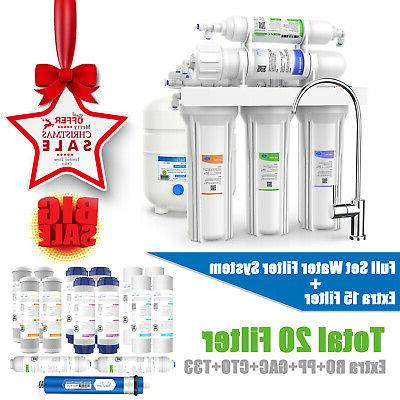 5 stage reverse osmosis home drinking water