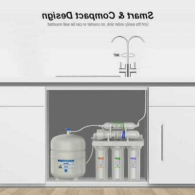 5 Reverse Home Water Filter System Purifier