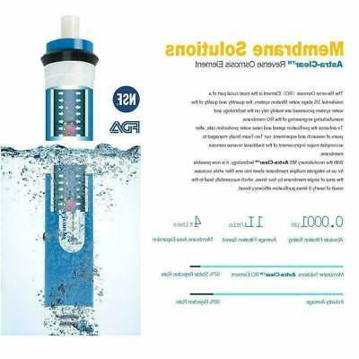 100GPD 5 Stage Sink Osmosis Purifier Drinking Water Filter System