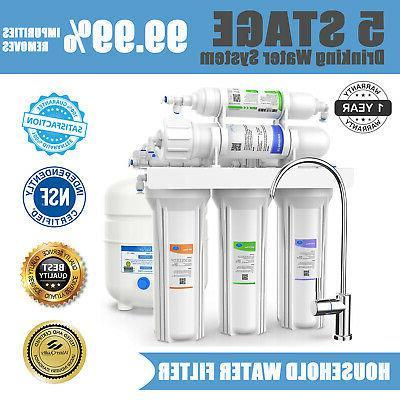 5 stage under sink reverse osmosis purifier
