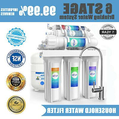 6 stage alkaline mineral reverse osmosis drinking
