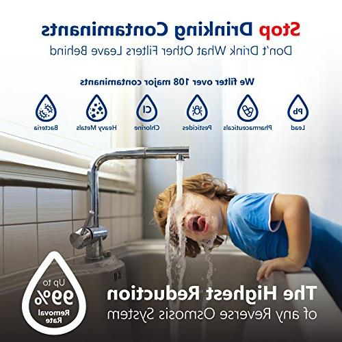 Express Reverse Osmosis Water – Mineralizing – Mineral, pH +, Under Sink with Remineralization – GDP