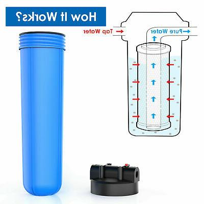 Big Blue Whole Water Filter w/