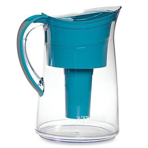 capri water filter pitcher turquoise
