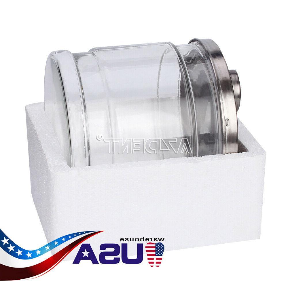 UPS 4L Water Filter Bucket Glass Purifier