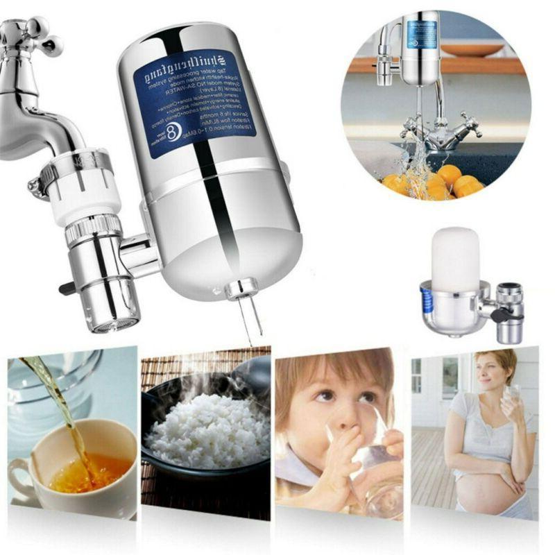 Faucet Sink Bathroom Mount Tap Purifier