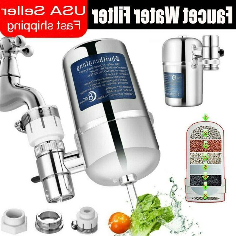 faucet water filter kitchen sink bathroom mount